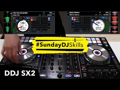 Pioneer DDJ SX2 House & Hip Hop Mix - #SundayDJSkills