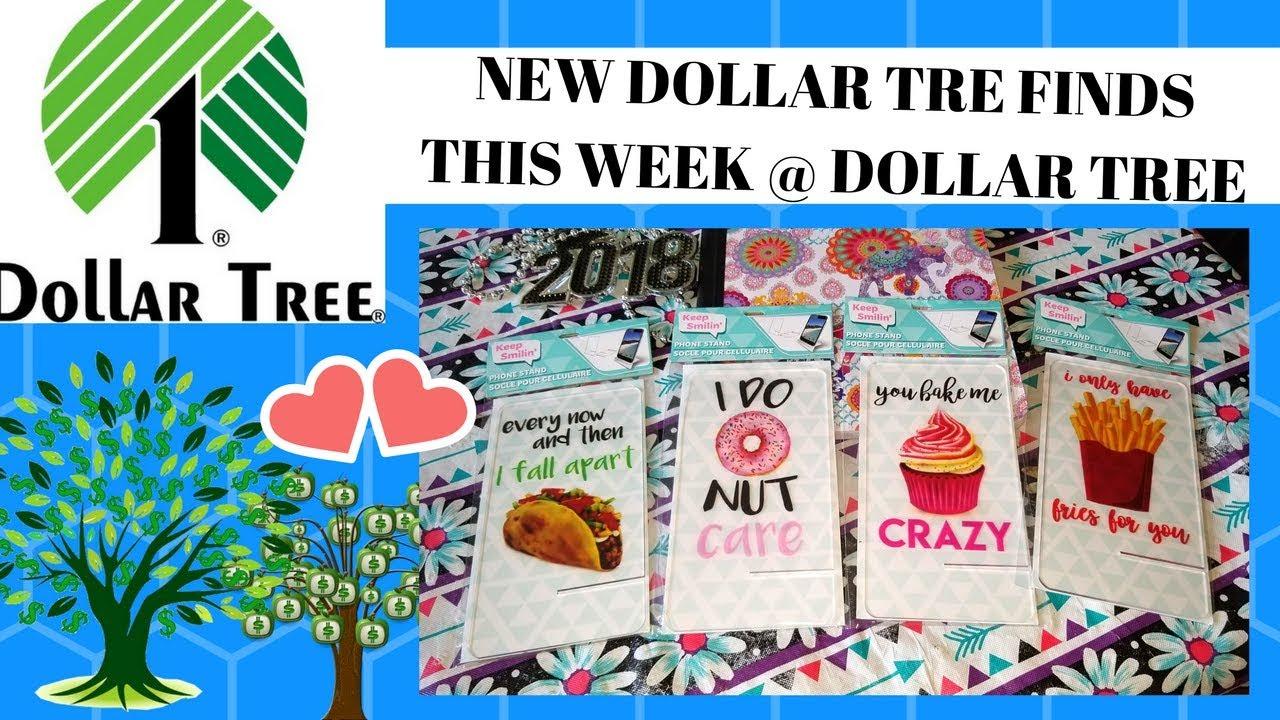 NEW ITEMS AT DOLLAR TREE THIS WEEK / MAY 9TH 2018!