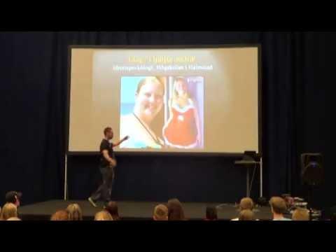 Erik Eriksson - Fet till fit | Fitnessgalan 2014 i Globen, Stockholm