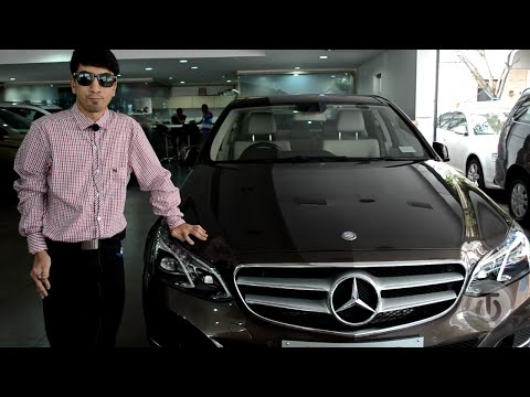 Mercedes Benz E250 2015/2016 walkaround review