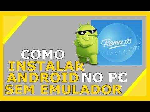 COMO INSTALAR O REMIX OS NO PC
