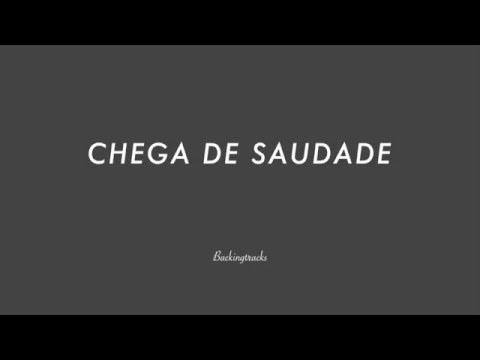 CHEGA DE SAUDADE chord progression - Backing Track (no piano)