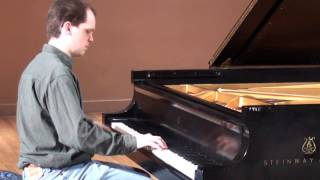 IN A MIST by Bix Beiderbecke - Bryan Wright, piano