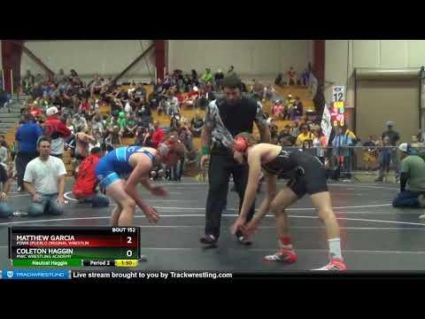Middle School 114 Matthew Garcia Powa (Pueblo Original Wrestlin Vs Coleton Haggin MWC Wrestling Ac
