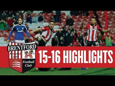 Match Highlights: Brentford 2 Cardiff City 1