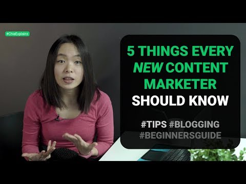 Beginners Guide to Content Marketing (what every content marketer needs to know!) | #ChiaExplains