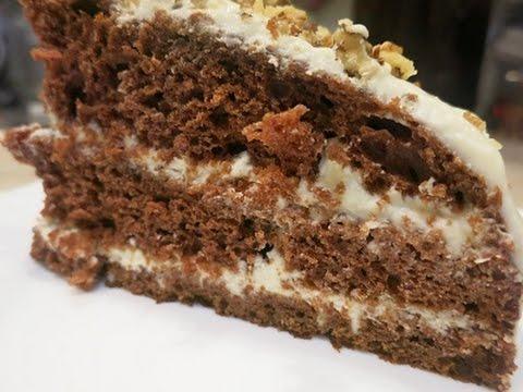 Торт На Кефире! Просто и Вкусно!Cake On Kefir
