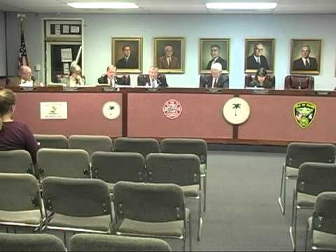 1/25/11, City Council, Isle of Palms, South Carolina
