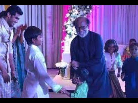 Rajinikanth dancing in is  daughter wedding #rajinikanth #wedding #marriage #trending #dance