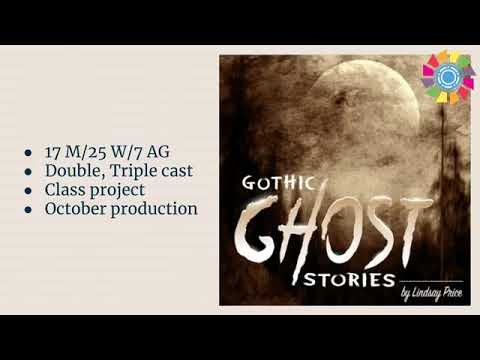 Gothic Ghost Stories by Lindsay Price - Theatrefolk