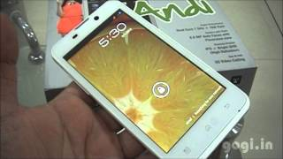 iball andi 4 5h unboxing and review