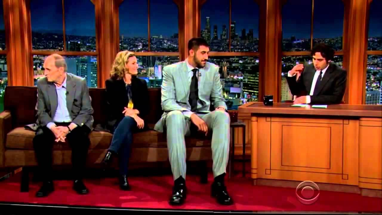 Sim Bhullar on The Late Late Show 2-26-2015