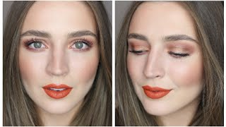 Warm-Toned Autumn Makeup