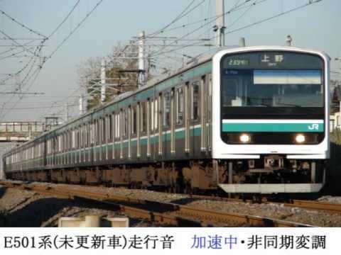 E501系未更新車走行音(岩間→羽鳥)【120km/h運転】