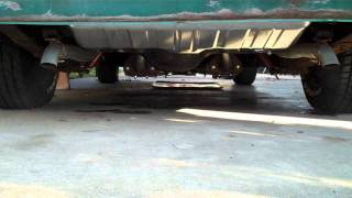 1967 289 4V Cougar - Mustangs Unlimited Exhaust System