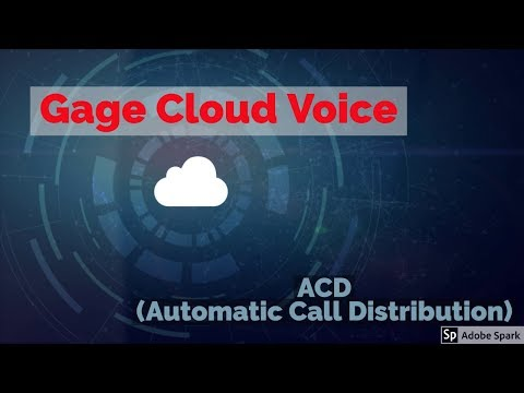 IACD (Automatic Call Distribution