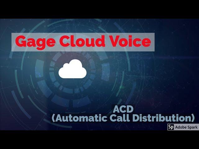 iACD (Automatic Call Distribution