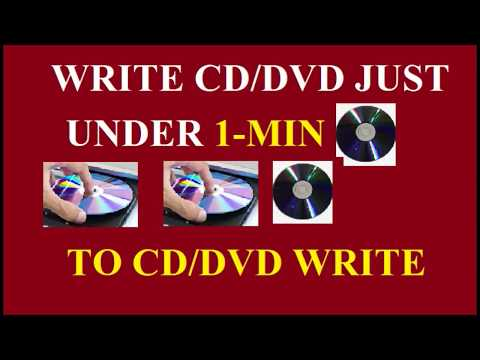 How to burn a CD/DVD in Windows 10 ,8,7 Using Power Iso