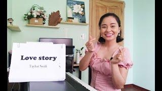 LOVE STORY (TAYLOR SWIFT) Học Tiếng Anh Qua Bài Hát (Thảo Kiara)