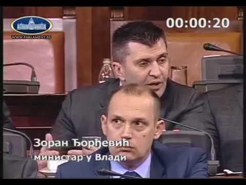 """Zoran Đorđević - Katastrofalno """"sranje"""""""