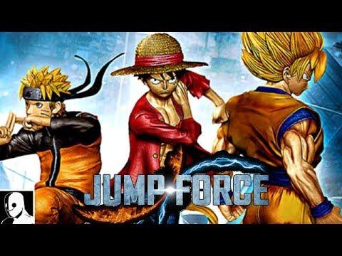 Jump Force Gameplay Deutsch Story Mode Part 1 - Son Goku, Naruto, Ruffy & co
