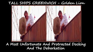 3D SBS - VR - TALL SHIPS GREENWICH - Golden Lion - Docking & Debarkation - Part 04 - 2018 - 1080p