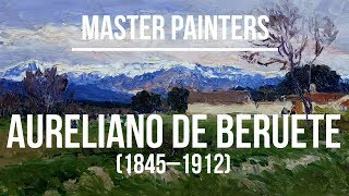 Aureliano de Beruete (1845–1912) A collection of paintings 4K Ultra HD