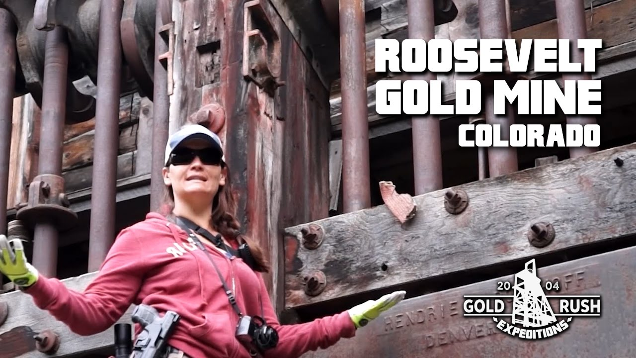 Roosevelt Gold Mine - Colorado - 2016