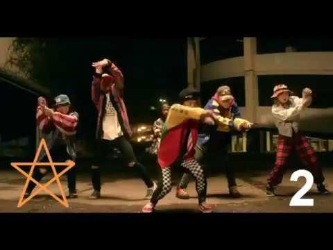 Chris Brown Top 10 Dance (Videos Officiales)