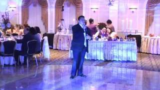 Best Man Speech and Groom Serenade -- Mark and Vanessa's Wedding - March 15, 2009(This is a video from my wedding reception of the Best Man Speech and me serenading my wife..., 2009-06-23T18:16:26.000Z)