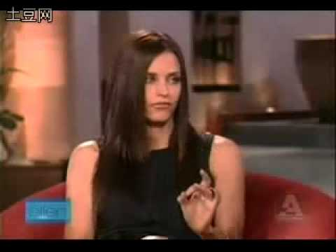 Courteney Cox on The Ellen Degeneres Show - 2007 PART 2
