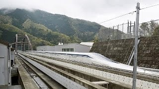 Japan bullet train beats its own speed record. It