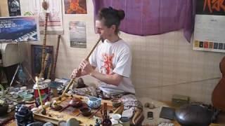 Илья Соковнин — импровизация на китайской флейте сяо