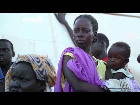 Thousands of South Sudanese People Displaced