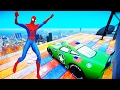 Spider Man and the Hulk ride a motorbike and monster truck! Cartoons about Super Heroes children!