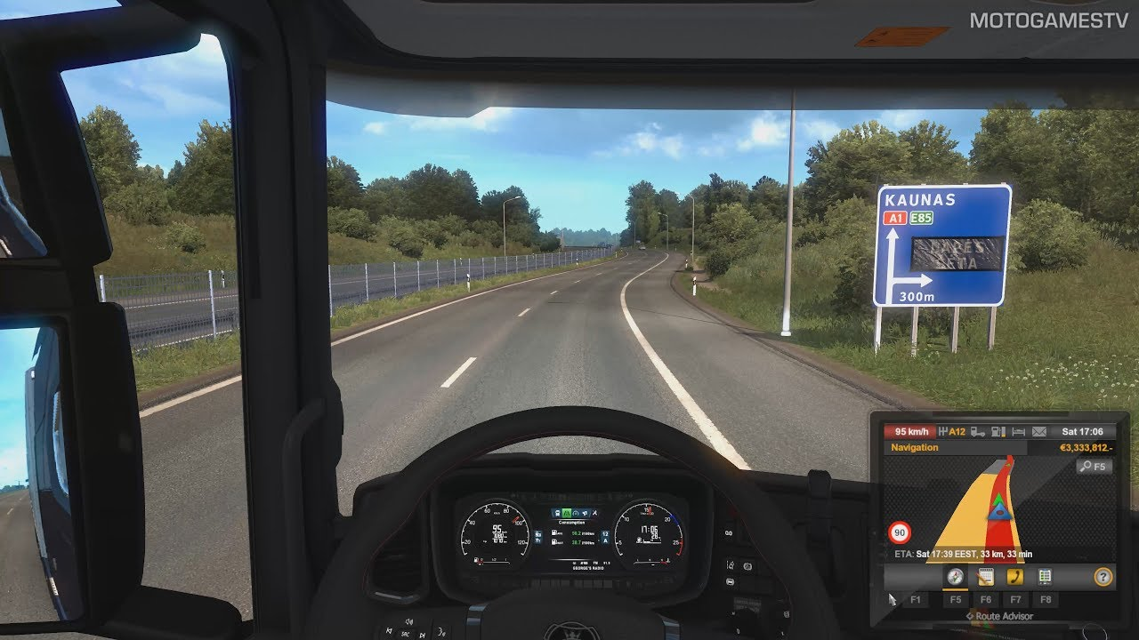 0aa99f9c28a Euro Truck Simulator 2 - First Time in Lithuania (Beyond the Baltic Sea)  [4K 60FPS]