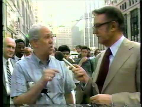 """Steve Allen """"Man on the street"""" in New York - 1980's"""