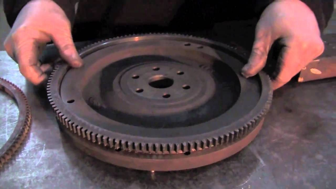 hight resolution of replacing a ring gear