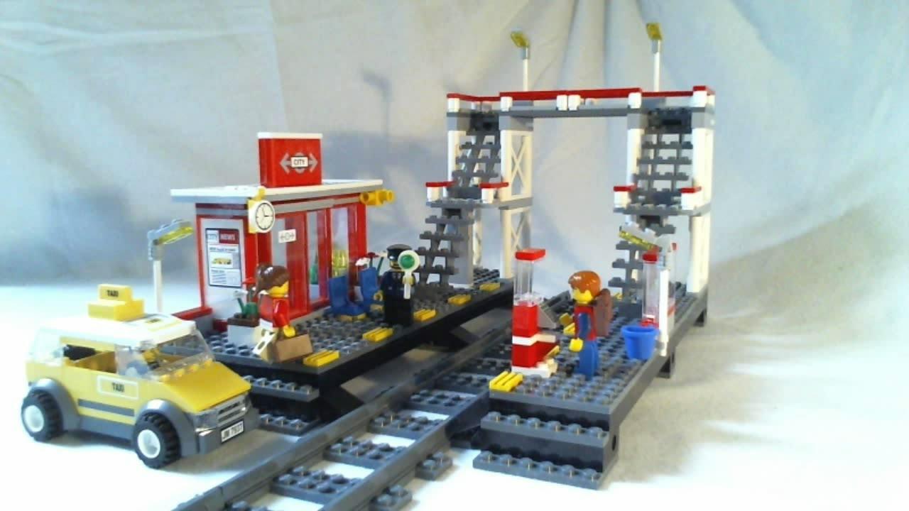 LEGO City Video Review : Train Station Français - YouTube
