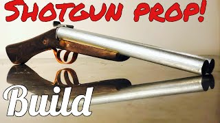 Making a Prop Double Barrel Shotgun  Astro Ray Guns
