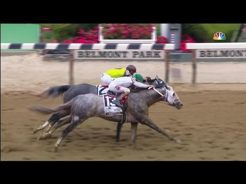 Creator Wins The Belmont Stakes 2016 [HD]