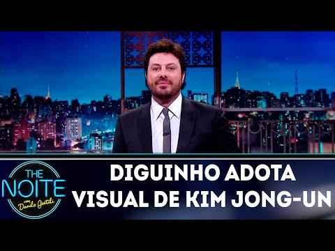 Monólogo: Diguinho adota visual de Kim Jong-un | The Noite (15/08/18)