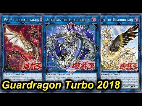 【YGOPRO】GUARDRAGON TURBO DECK 2018