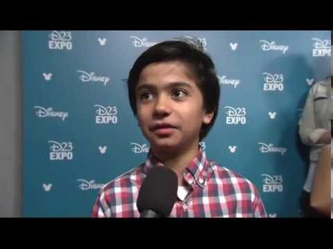 THE JUNGLE BOOK: Neel Sethi on the D23 Red Carpet - YouTube