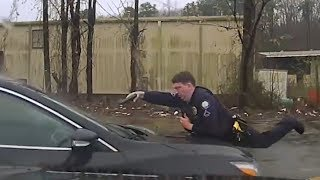 Little Rock Police Officer Kills Fleeing Suspect With 15 Bullets Through The Windshield