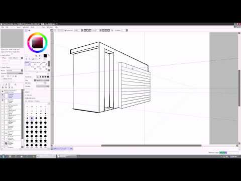 PAINT TOOL SAI 2 :  Perspective And Text Options