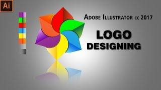 Logo Design In Adobe Illustrator CC 2017   Hindi Tutorial