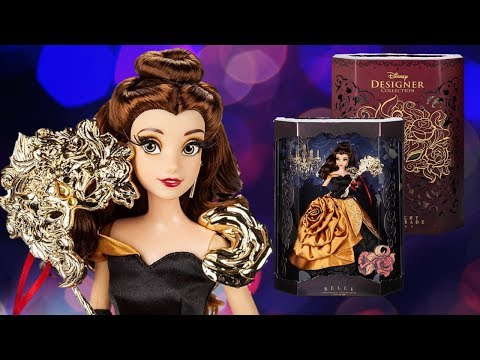 Belle Disney Designer Collection Midnight Masquerade Series Doll Review