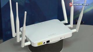 Engenius ECB1750 access point review - Hardware.Info TV (Dutch)