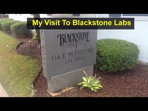 A visit to Blackstone Laboratories engine oil analysis facility where you can have your oil tested.